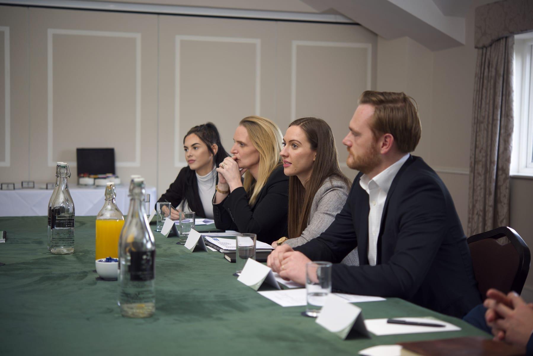 Delegates, conference Bicester, Oxfordshire