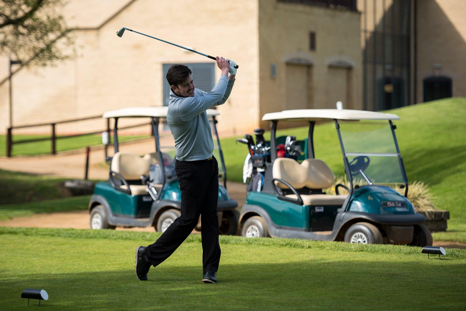 Swing, Tee off Golf Club, Bicester