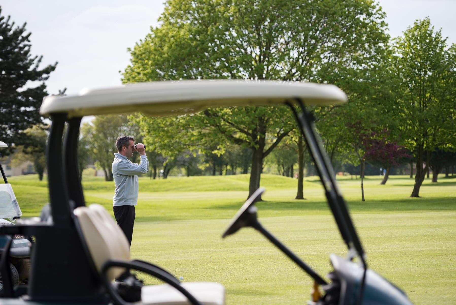 Golf Buggy, golf balls, golf pro bicester