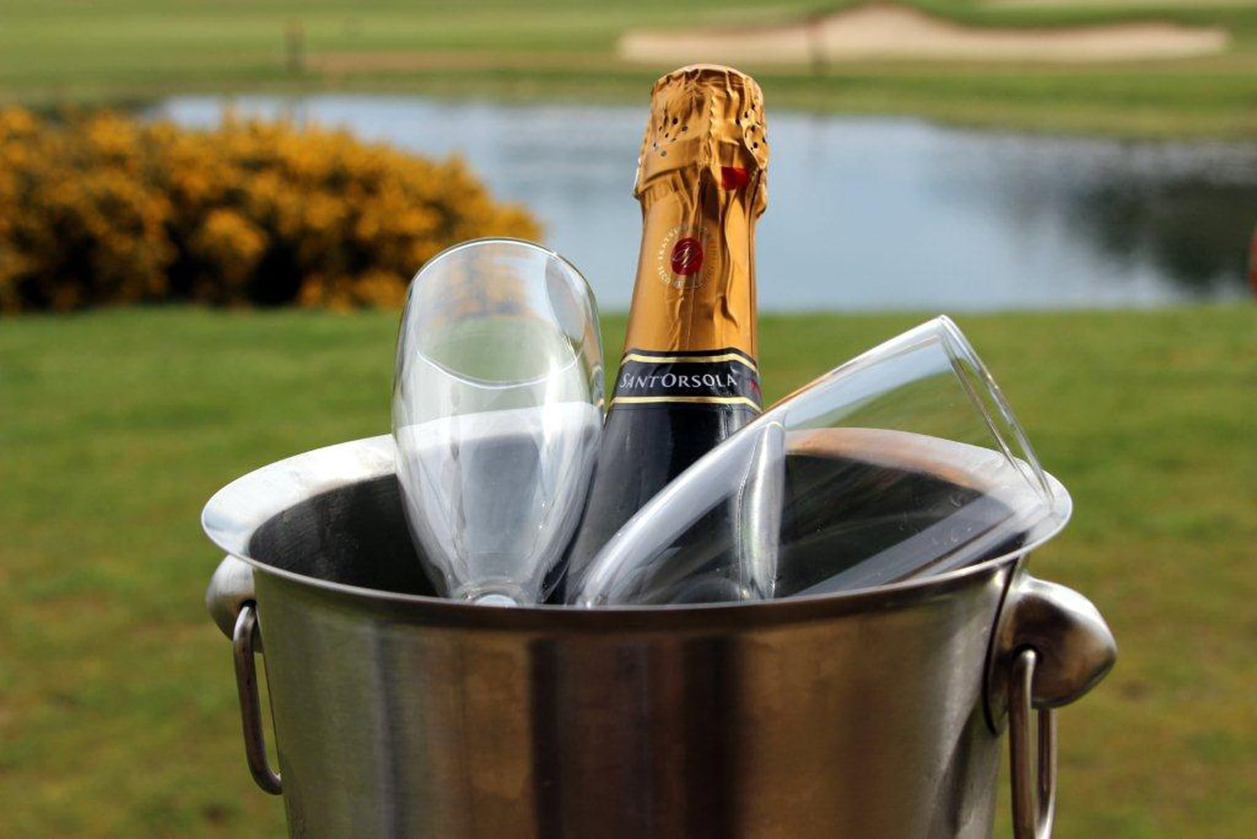 Prosecco on GolfCourse (2)