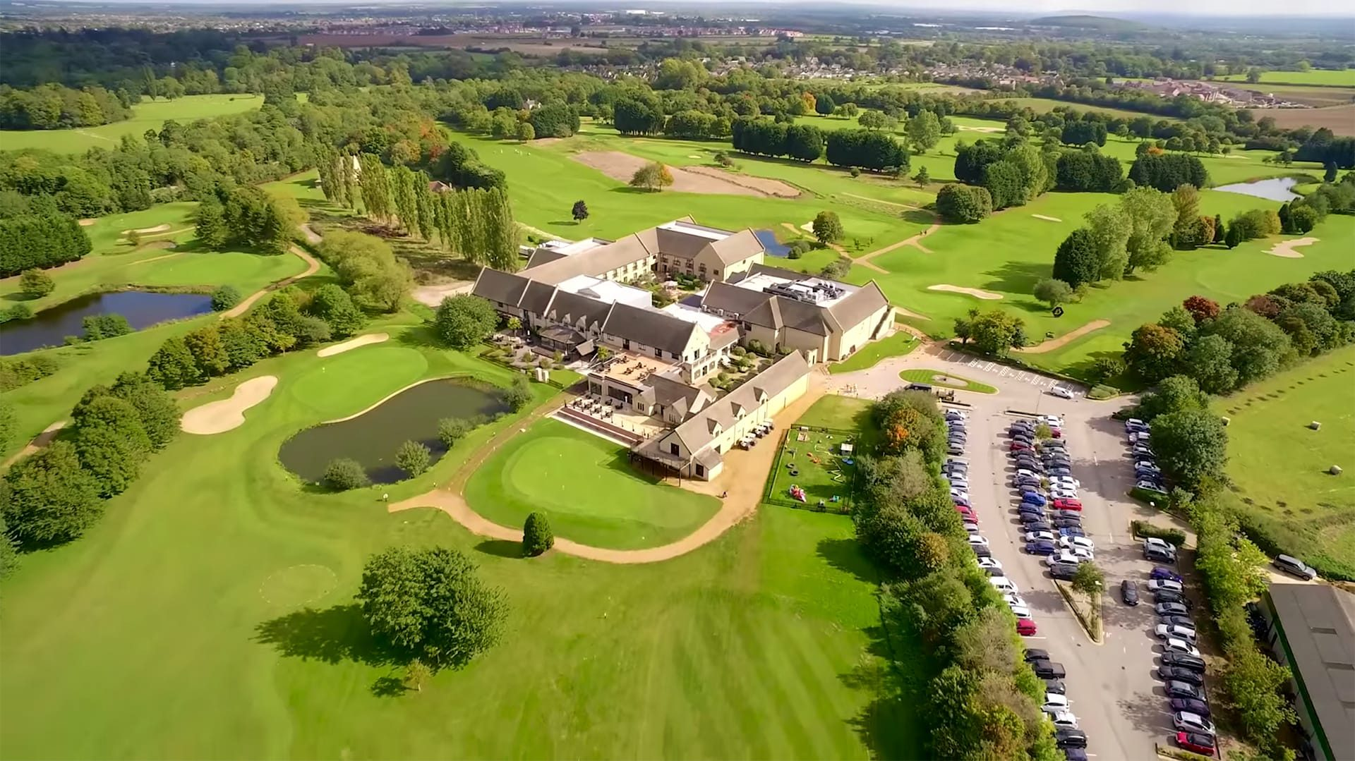 overview-shot Bicester Hotel Golf and Spa
